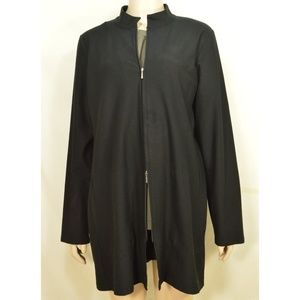 Eileen Fisher Jackets & Coats - Eileen Fisher jacket L long pockets signature vis